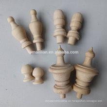remates decorativos de madera