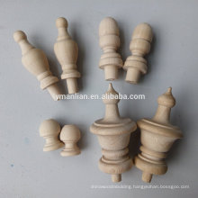 decorative wood finials