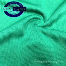 100% polyester knitted weft mesh fabric cycling wear
