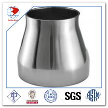 Réducteur d'ajustement de tuyaux en acier inoxydable 316 à froid