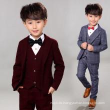 Nach Maß Jungen-Mantel-Anzug-Blumen-Jungen-Klage Guangdong-Fabrik
