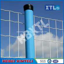 Clôture en fil de fer galvanisé enduit de PVC