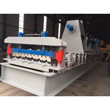 Lembaran Bumbung Double Layer Roll Forming Machine