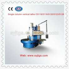 High precision cnc vertical lathe machine for sale in stock made in China