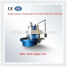 Máquina de torno vertical cnc de alta precisão para venda em estoque made in China