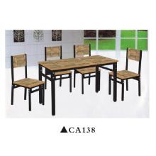 Muebles antiguos del comedor de madera de la tabla de madera Muebles del hogar