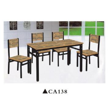 Mobília de madeira da casa da mobília da sala de jantar da antiguidade da tabela