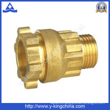 Brass Compression Fitting for Pipe Coupling (YD-6049)