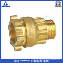 Латунный компрессионный фитинг для соединения труб (YD-6049)