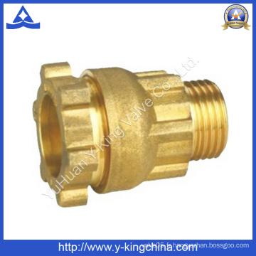 Raccord de compression en laiton pour couplage de tuyaux (YD-6049)
