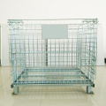 Stackable Galvanized Lockable Metal Logistic Storage Cage