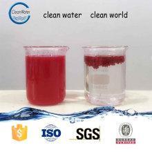 Floculant de brouillard de peinture pour traiter les eaux usées de peinture Produits chimiques de traitement de l'eau pour cabine de peinture