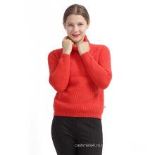 Лучшие продажи привлекательный стиль красный стиль 100% кашемировый свитер