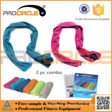 Wholesale Soft Against Hot Weather Ice Yoga Microfiber Cooling Towel