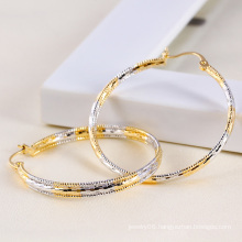 Xuping Fashion Multicolor Circle Earring
