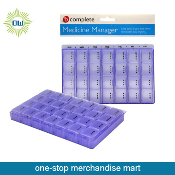 Plastic Medicine Manager Pill Box