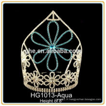 Rhinestone mariage tiaras mariage couronne en gros tiare perruque baguette mariage tiare coiffure
