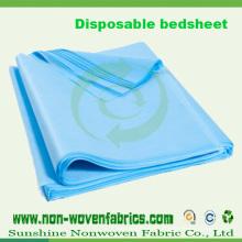 Tela no tejida médica para la hoja de cama desechable (100% PP)