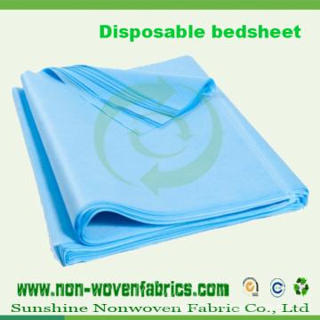 Tissu non tissé médical pour feuille de lit jetable (100% PP)