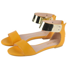 Classic New Style Ladies Flat Women Sandals (HCY02-677)