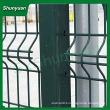 Декоративный забор с двойной петлей