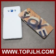 Impression 3D Sublimation téléphone blanc Case for Samsung Galaxy A7