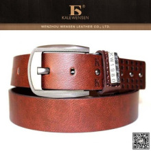 Hot Nuevos productos Brown Western Mens Pu Belts