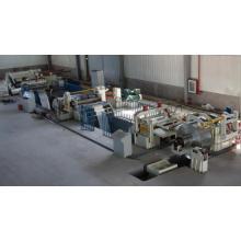 Máquina de corte de aço galvanizada totalmente automático de alta velocidade da bobina