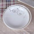 Personalisierte Porzellansuppe Obstteller mit Abziehbild