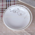 personalized porcelain soup fruit plate with decal