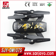 2017 new Foldable drone PK 8807 Pro UAV Wifi Follow Me Function With 2MP HD Camera Wifi FPV control drones SJY-DM107S