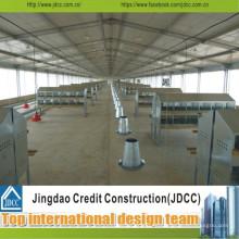 Jdcc Easy Install Taller prefabricado de acero ligero