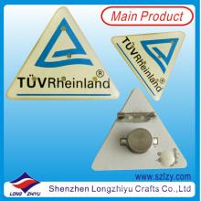 Dreieck Auto Abzeichen Licht Revers Pin mit LED Licht