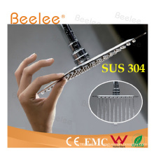 Ultra-Thin Stainless Steel Mirror Surface Round Shower Head SUS304