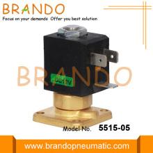 Válvula solenoide de máquina de cafetera de alta temperatura de brida