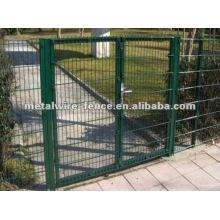 Portão de cerca de ferro