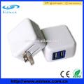 5V2.1A Dual / Single USB Ladegerät, Falten US Stecker für Iphone, Ipad, Ipod, Pad