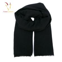 Черный мужской шарф кашемир шарф зимы 2017