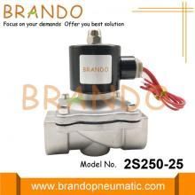 1 '' 2S250-25 Edelstahl-Magnetventil für Abwasser