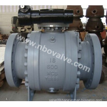 "API Wcb Trunnion Mounted Ball Valve (Q647H-18"")"