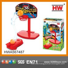 Crianças de qualidade superior brinquedos indoor plástico brinquedo mini jogo de basquete