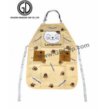 Hersteller Custom Cat Pattern Billig Kochen Küche Schürze
