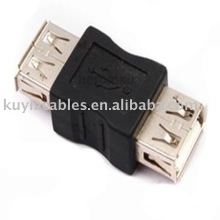 USB Female to female coupler adapter PC Cable Extension Connector Adapter