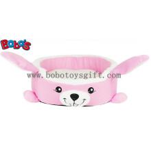 Caliente suave felpa de dibujos animados conejo forma de mascotas cama para perrito gato perro Bosw1093 / 45X40X13cm