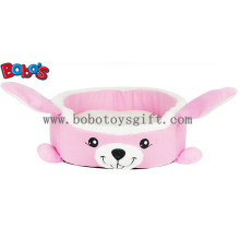 Теплый мягкий плюшевый мультфильм Кролик формы Pet кровать для щенка Cat Dog Bosw1093 / 45X40X13cm