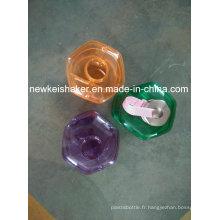 2.3L PETG Shaker Plastic Bottle Jug Protein Fabricant
