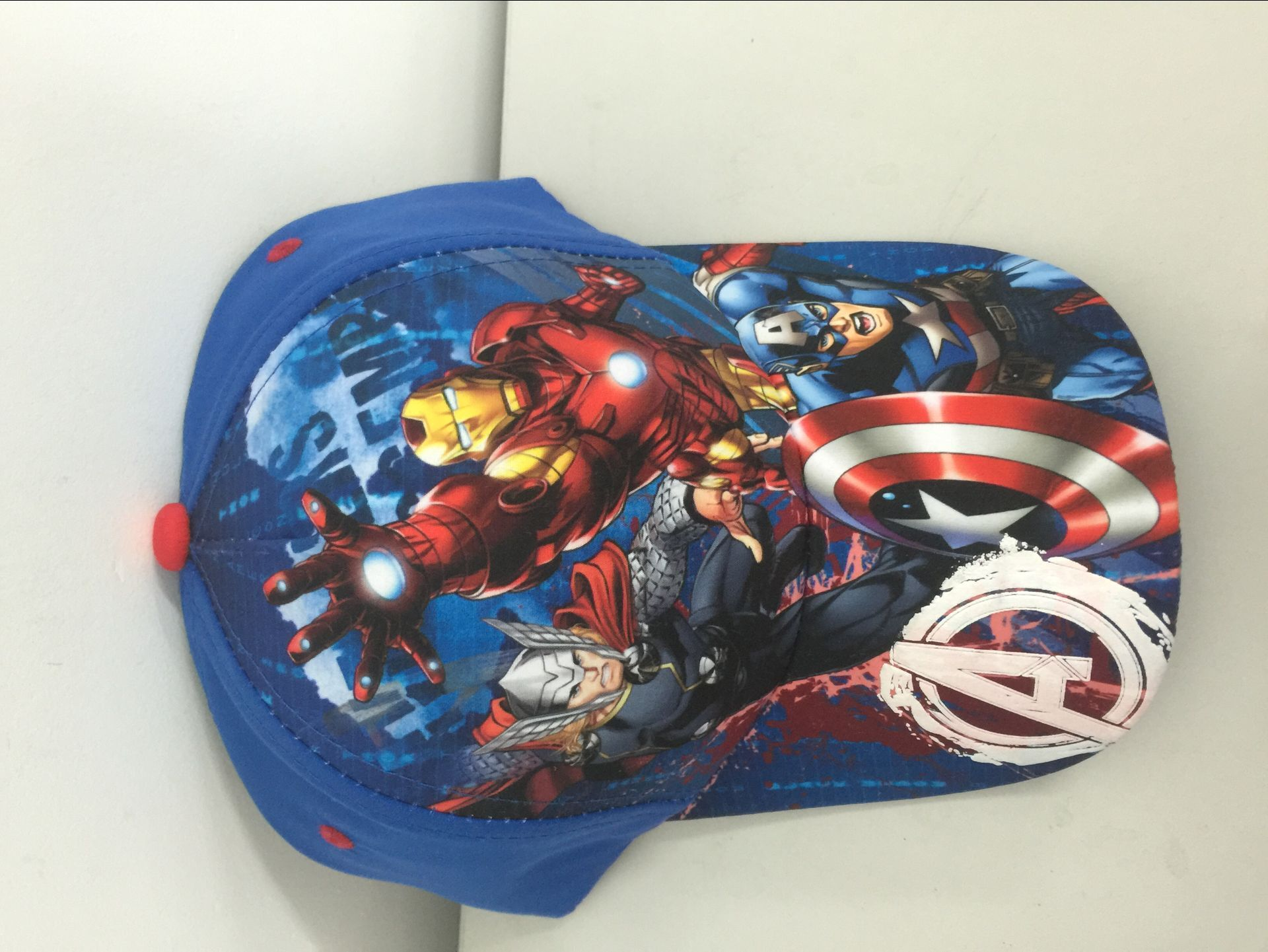 Sublimation microfiber baseball cap