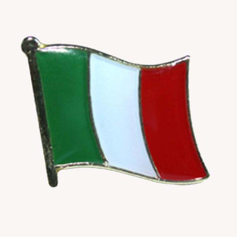 Italy Country Pin