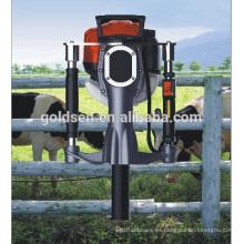 52 mm de gasolina de gas de energía eléctrica de mano Estrella piquete pila de la máquina de conducción de la gasolina Cerca Pilote Driver Martillo