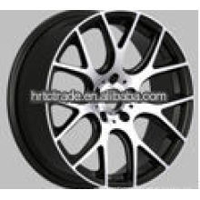 16/17/18/19 inch beautiful black 7 spokes wheels for car